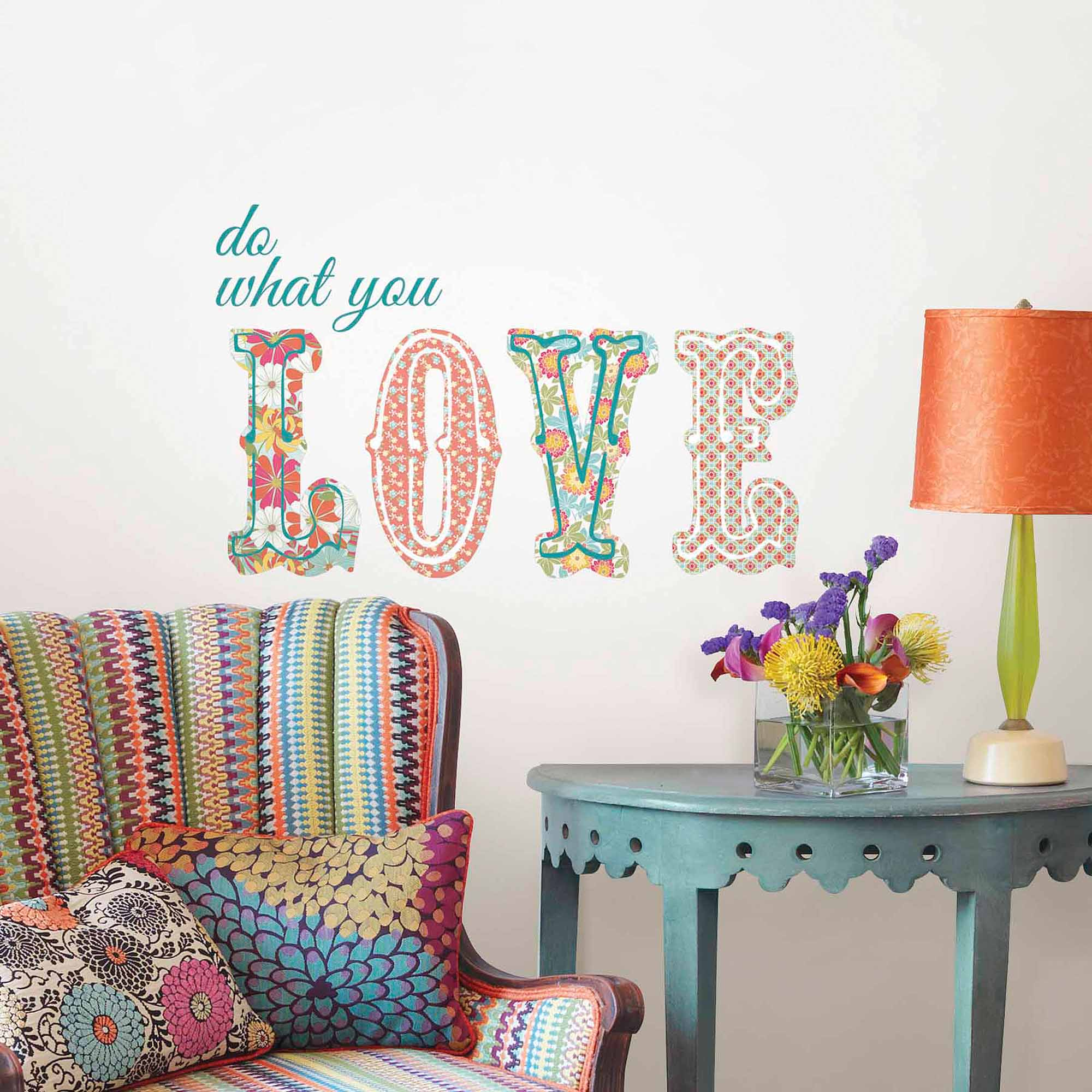 WallPops Do What You Love Wall Quote Decal