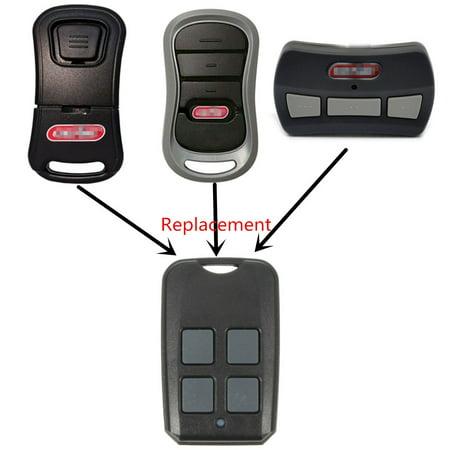 Car Garage Gate Door Remote 315 390 MHz For Genie G1T-BX 38501R GIT1 GT912 G3T-BX 37218R GM3T-BX Fixed Rollong Code NO DIP Switch Inside MATCC US