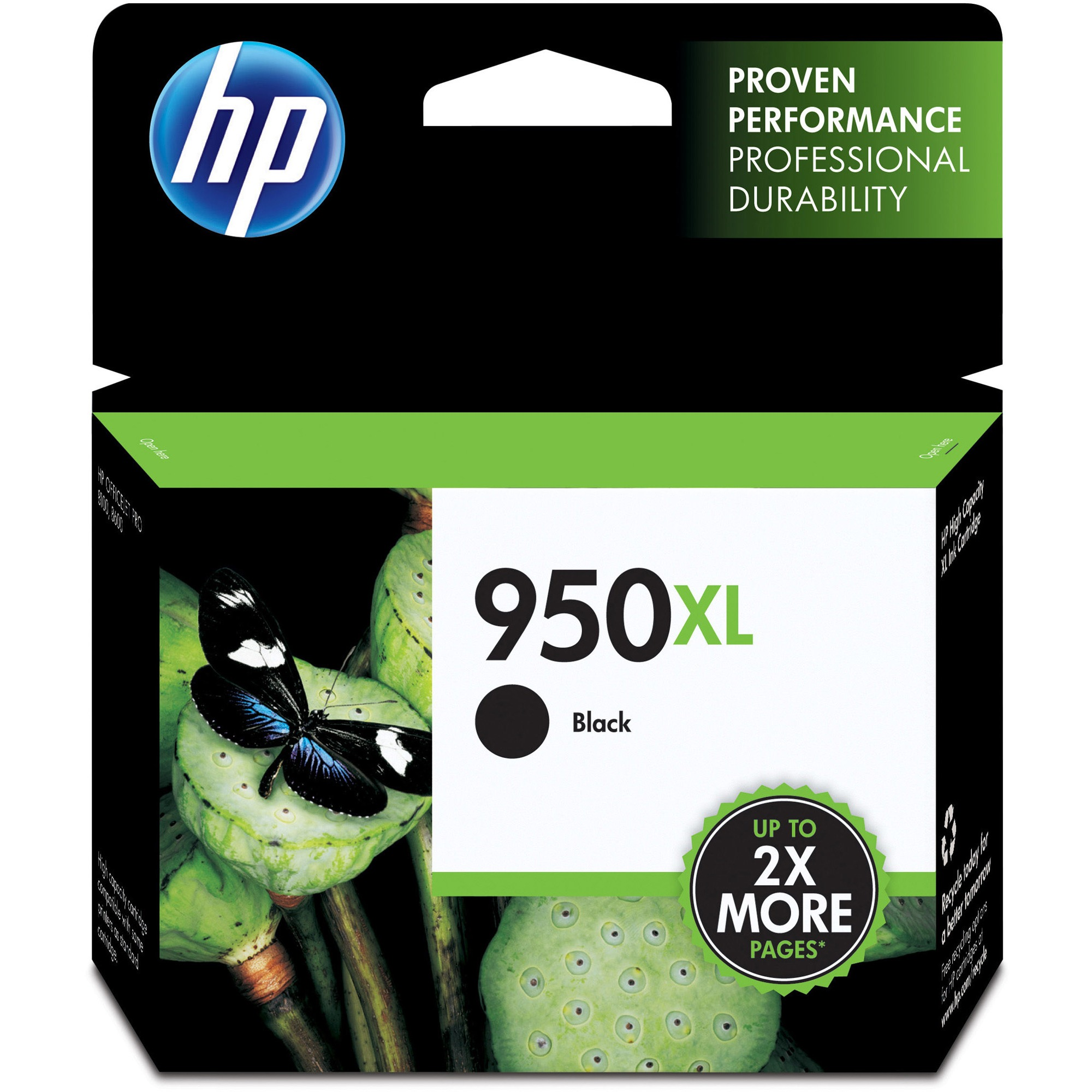 HP 950XL Black High-Yield ink cartridge (CN045AN)