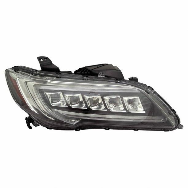 For Acura RDX Headlight 2016 17 2018 Passenger Side LED