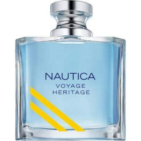 Voyage Heritage By Nautica For Men's Eau de Toilette 3.4 fl oz 100