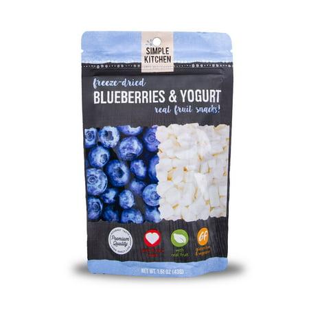 Wise Company, Inc. Sk Freeze Dried Blueberries W/yogurt - Freeze Dried Blueberry Powder