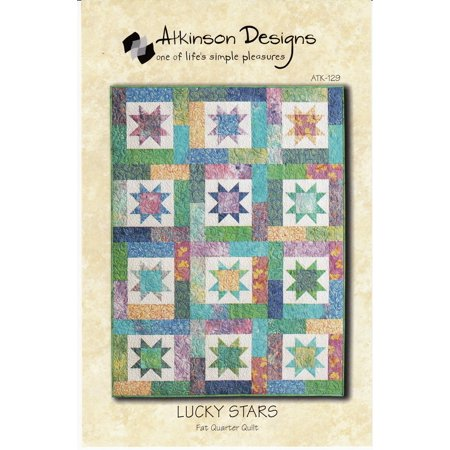 Atkinson Lucky Stars Quilt Pattern Fq Quilt
