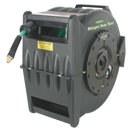 LEGACY L8305N-GRA Hose Reel, 3 8 In., 50 ft. L, 1 4 In. MNPT by LEGACY