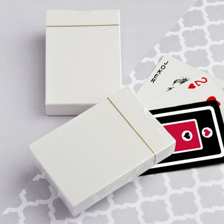- 50 Perfectly Plain Collection Playing Card Favors
