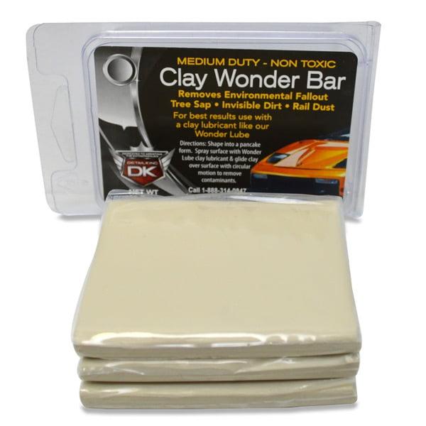 Auto Detailing Clay Bar Wonder Bar - Medium Duty
