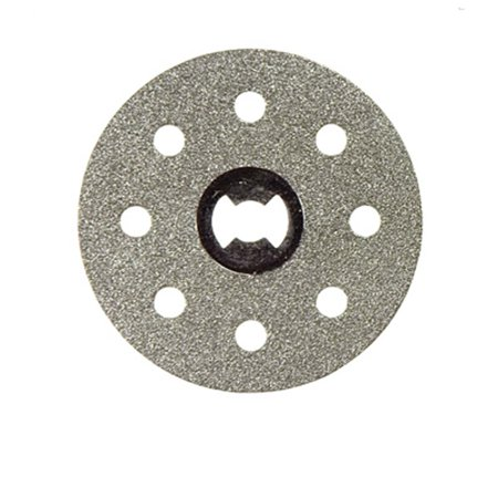 Diamond Coated 1.5 Diameter Tile Cutting EZ Lock Wheel  (Dremel: LDRE-EZ545)