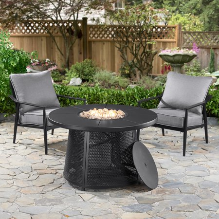 Better Homes Amp Gardens Acadia 3 Piece Outdoor Fire Pit And