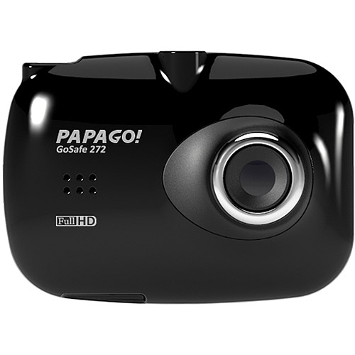 """PAPAGO GoSafe 272 Full HD Dash Cam Car DVR Dashboard Camera Video Recorder with Suction Mount, Night Vision, Parking Monitor, G-Sensor ,2.4"""" Screen (GS272-US)"""