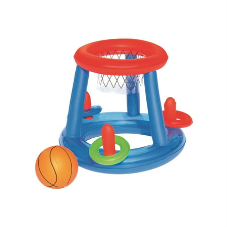 H20GO! Pool Inflatable Play Game Center (Basketball + Rings)
