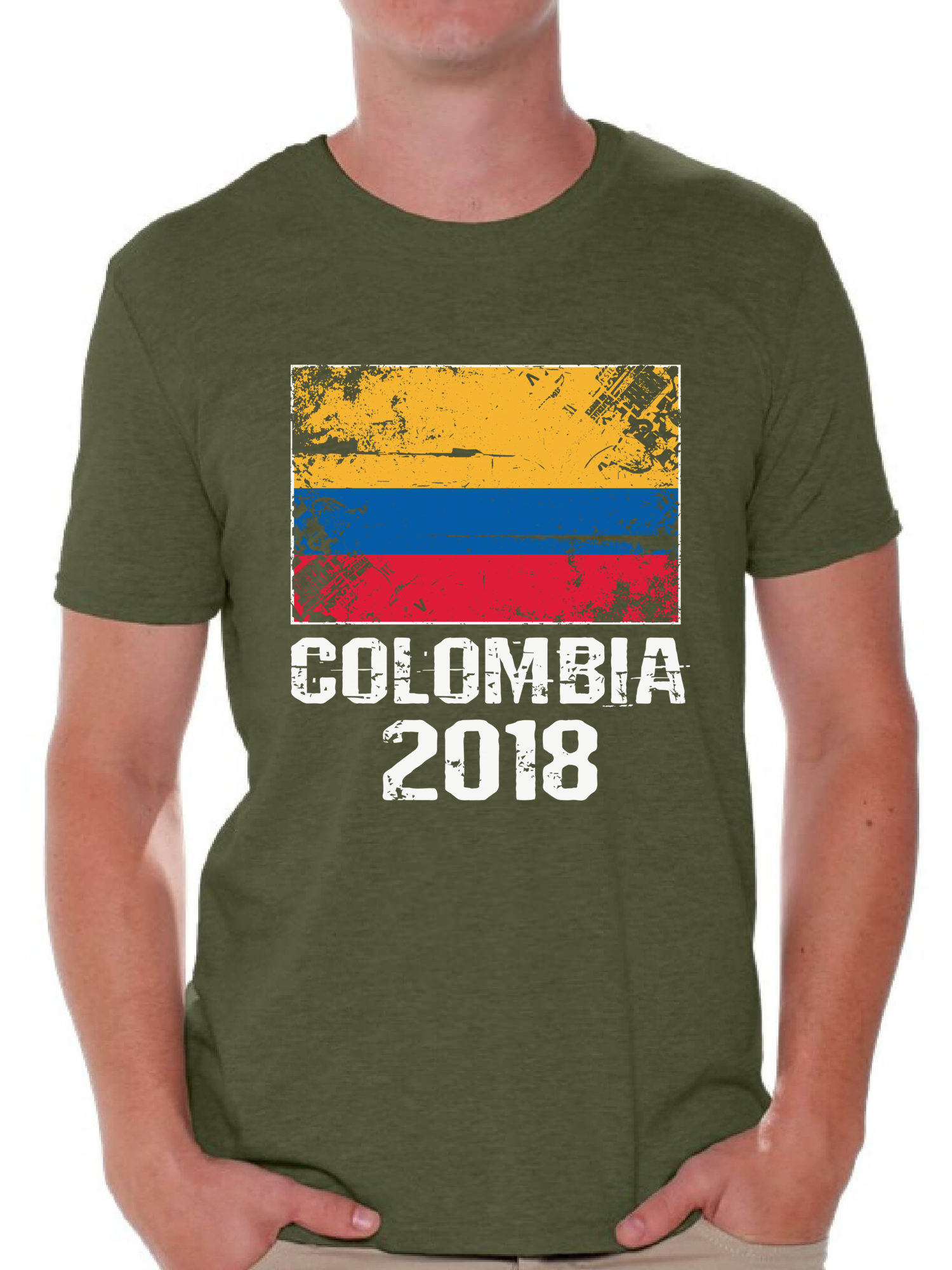 Awkward Styles Colombia 2018 Men s T Shirt Soccer Shirt for Men ... 4885a0190