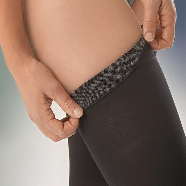 Jobst Opaque Sensitive 15-20 Thigh  Ct Sm Nat