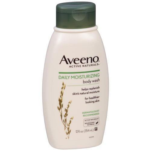 Aveeno Active Naturals Daily Moisturizing Body Wash, 12 fl oz