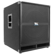 """Seismic Audio  18"""" PA POWERED SUBWOOFER Speaker Active - Tremor_18-PW"""