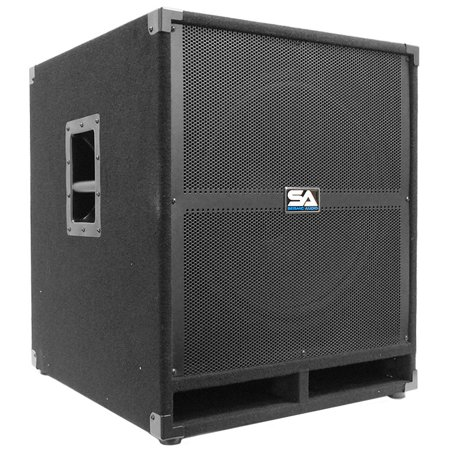 "Seismic Audio  18"" PA POWERED SUBWOOFER Speaker Active - Tremor-18"
