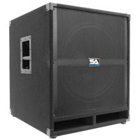 "Seismic Audio  18"" PA POWERED SUBWOOFER Speaker Active - Tremor-18"