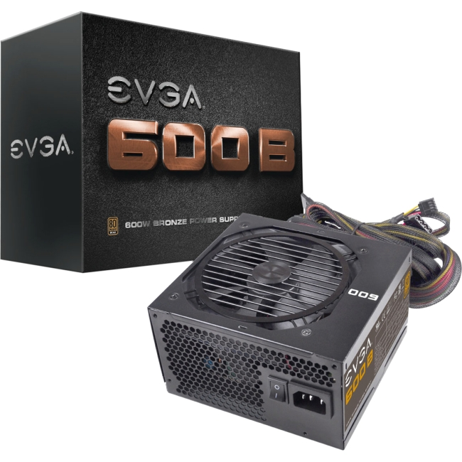 EVGA 600B Bronze Power Supply