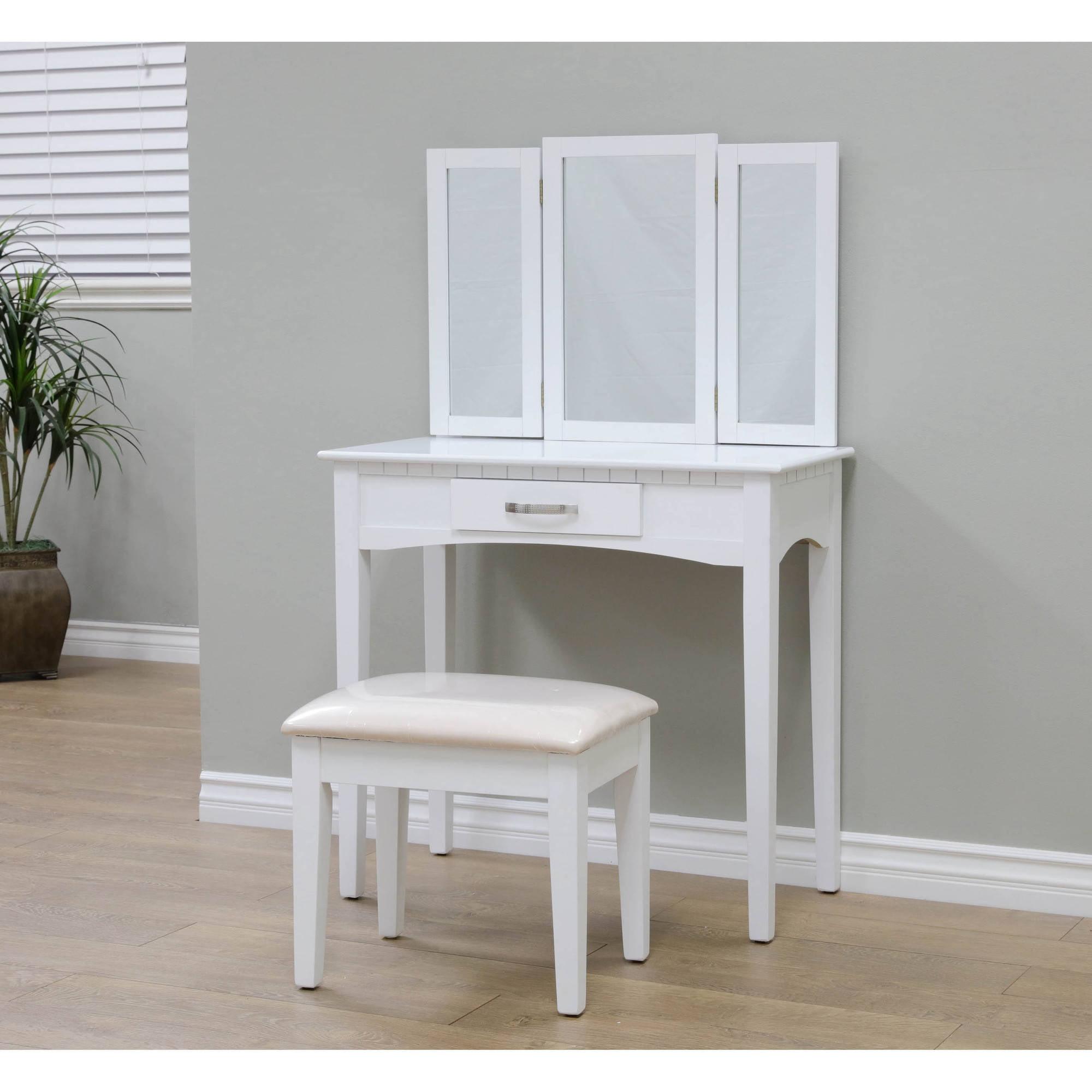 Home Craft 3 Piece Vanity White Walmart Com