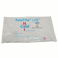 """Relief Pak Lite reusable hot/cold pack, 8 x 14"""", case of 12"""
