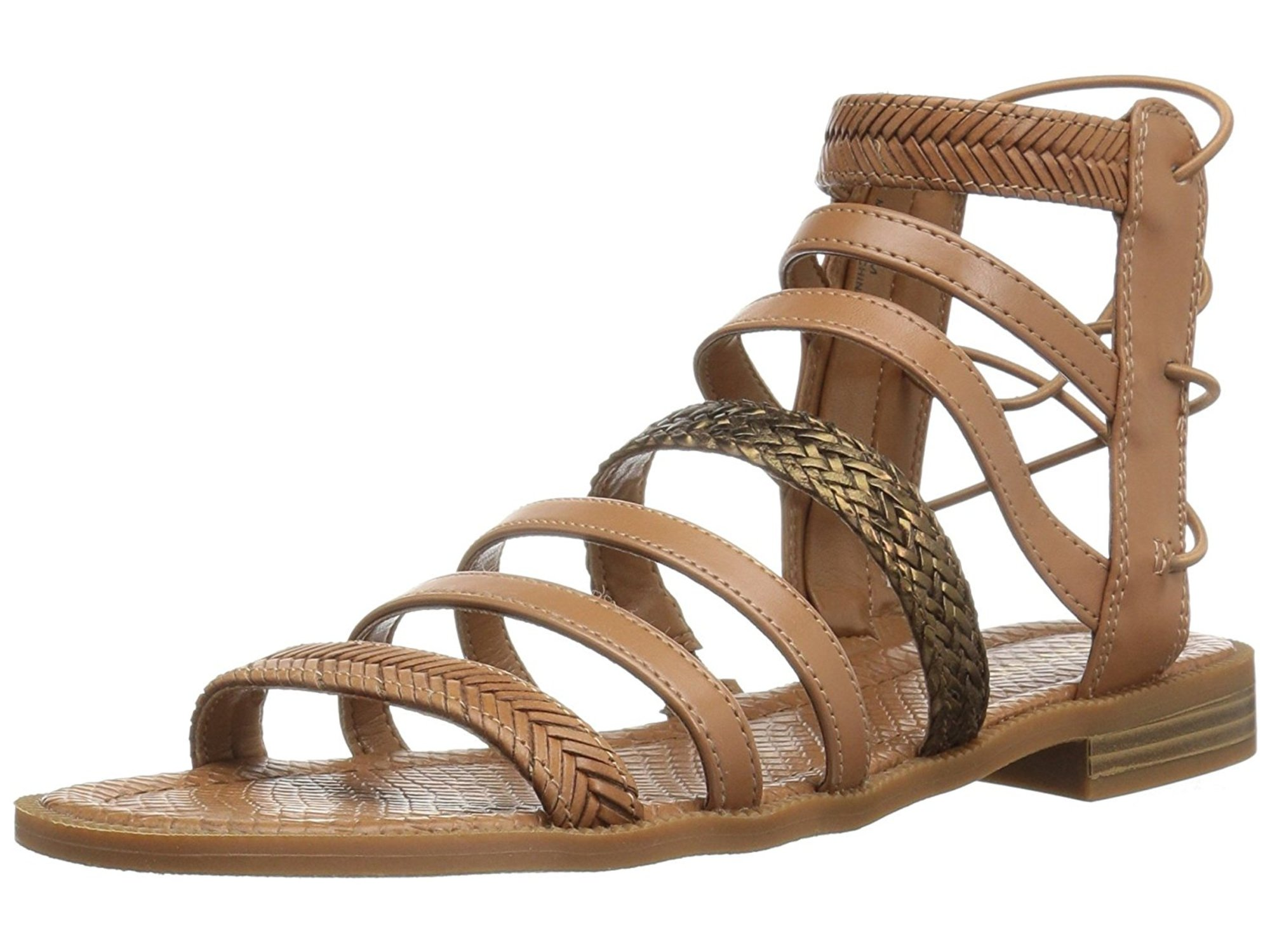 ec7fd231a46 Nine West Womens Xema Open Toe Casual Strappy Sandals