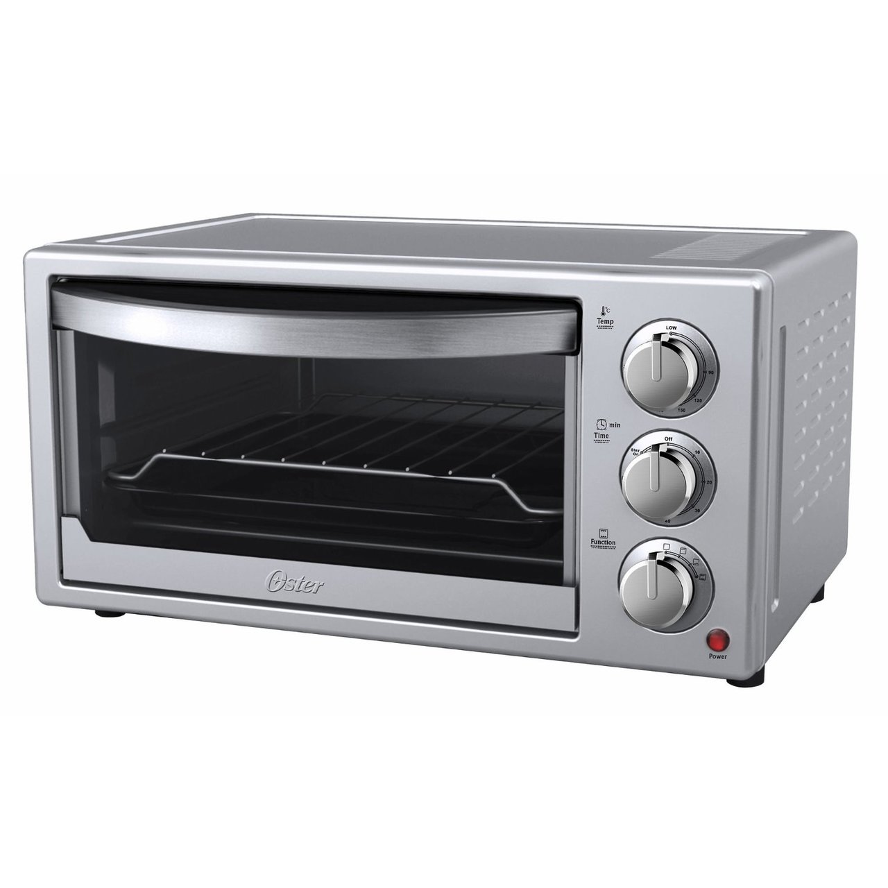 Toasters and Ovens in kitchen