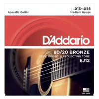 String, D'Add 80/20 Brz Med Acoustic