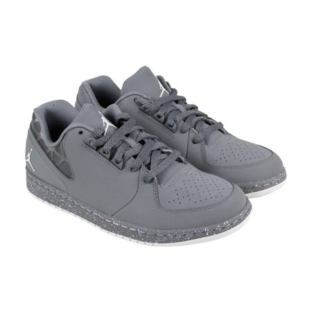 04daadc0977 Nike - Nike Jordan Flight 3 Low Prem Mens Gray Synthetic Athletic Running  Shoes - Walmart.com