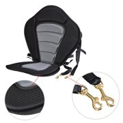 Adjustable Kayak Seat Fishing Kayaking Canoeing Padded Seat with Backrest by