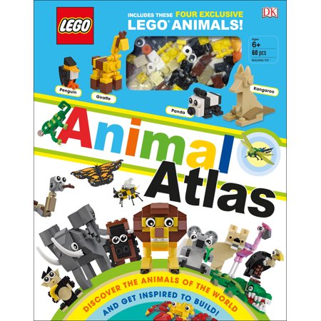 LEGO Animal Atlas : Discover the Animals of the World and Get Inspired to