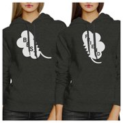 365 Printing Best Friend Clover Funny BFF Matching Hoodies For St Patricks Day