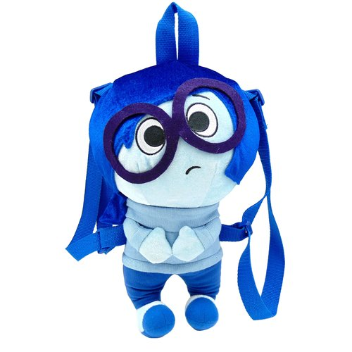 "Inside Out 17"" Plush Backpack, Sadness"