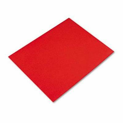Pacon Colored Four-Ply Poster Board, 28 x 22, Red, 25/Carton (PAC54751)