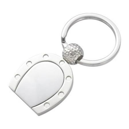 Aeropen International K-71 2 Tone Horseshoe Key Ring (Horseshoe Key Ring)