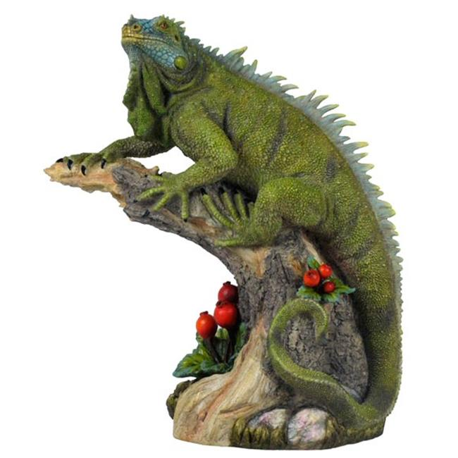 Unicorn Studios WU74587VA Iguana Lizard Sculpture