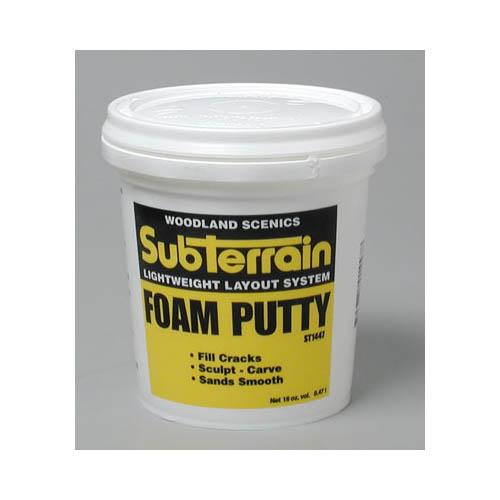 ST1447 Foam Putty Pint Multi-Colored