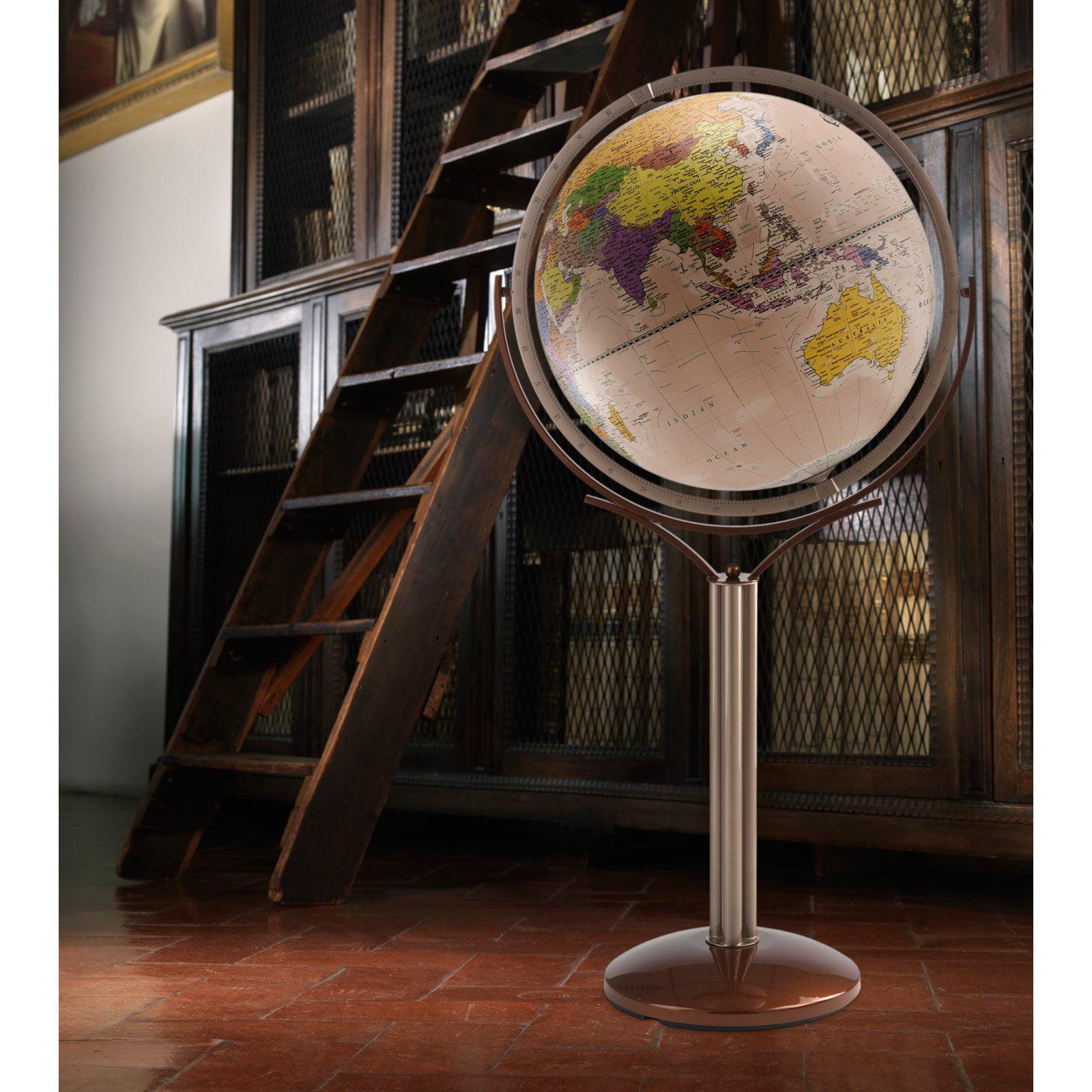 Zoffoli Magellano 20-in. Antique Ocean Floor Globe by