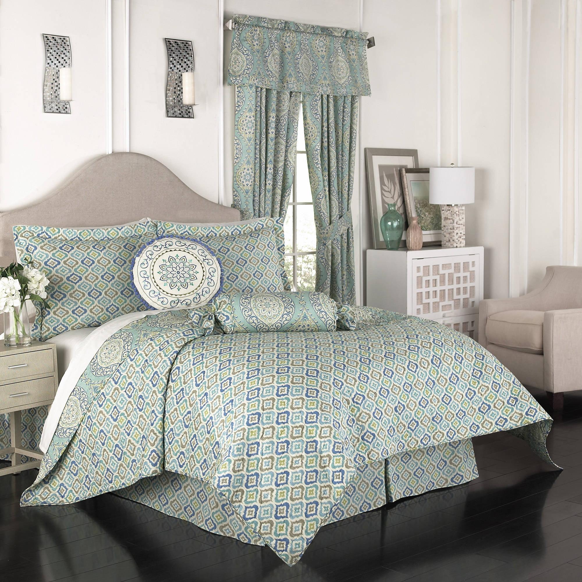 bath com grey set bedding and product design zara comforter geometric blue piece bed intelligent overstock