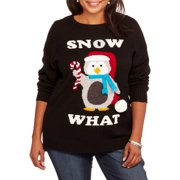 Holiday Women's Plus Snow What Pullover