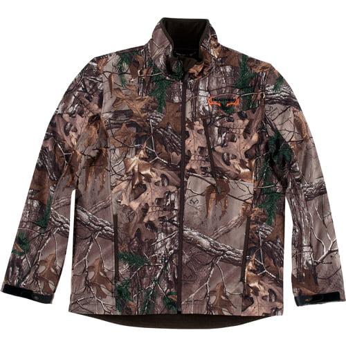 Realtree Men's Softshell Jacket, Xtra