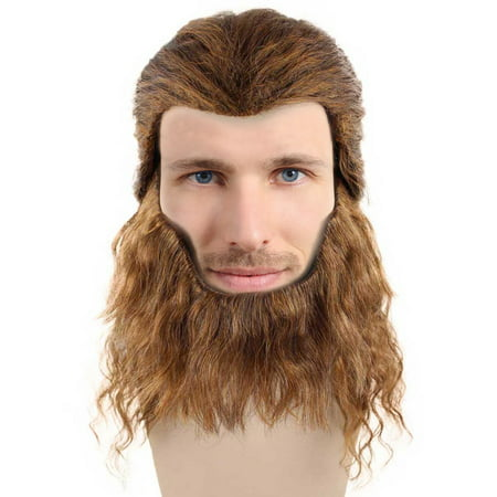 The Beast Costume Hair Wigs w/ Wig Cap Party Halloween Beauty And The Beast Cosplay Wig for Men