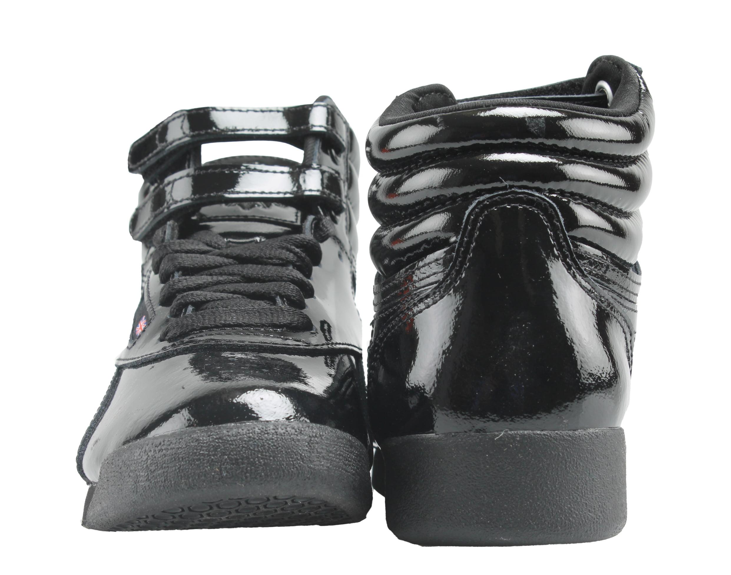 8bea2d12c20 Reebok - Reebok Classic Freestyle Hi Patent Black Womens Shoes CN2822 -  Walmart.com