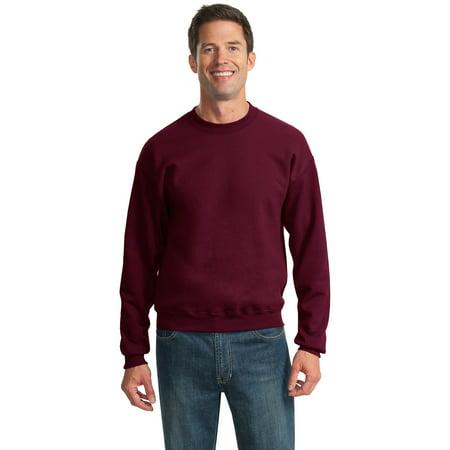 Jerzees Nublend Crewneck Sweatshirt  Maroon  Xl