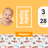 Hello Bello Diapers Jumbo Pack - Engine Revvers - Size 3 (28ct)