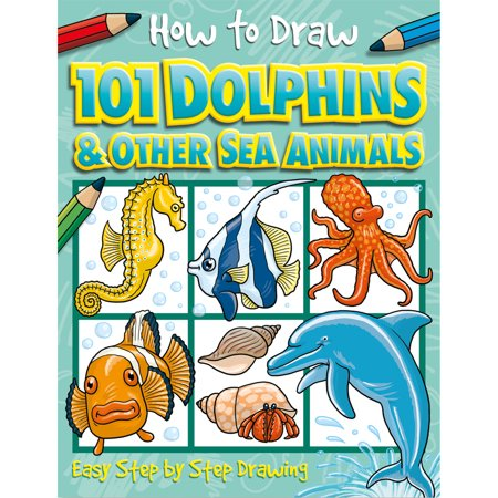 How to Draw 101 Dolphins (How Do You Draw A Halloween Bat)