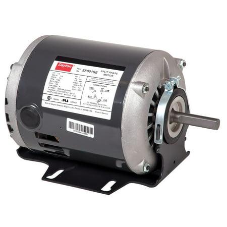 Dayton 1 3 hp general purpose motor split phase 1725 for 5 hp 110v electric motor