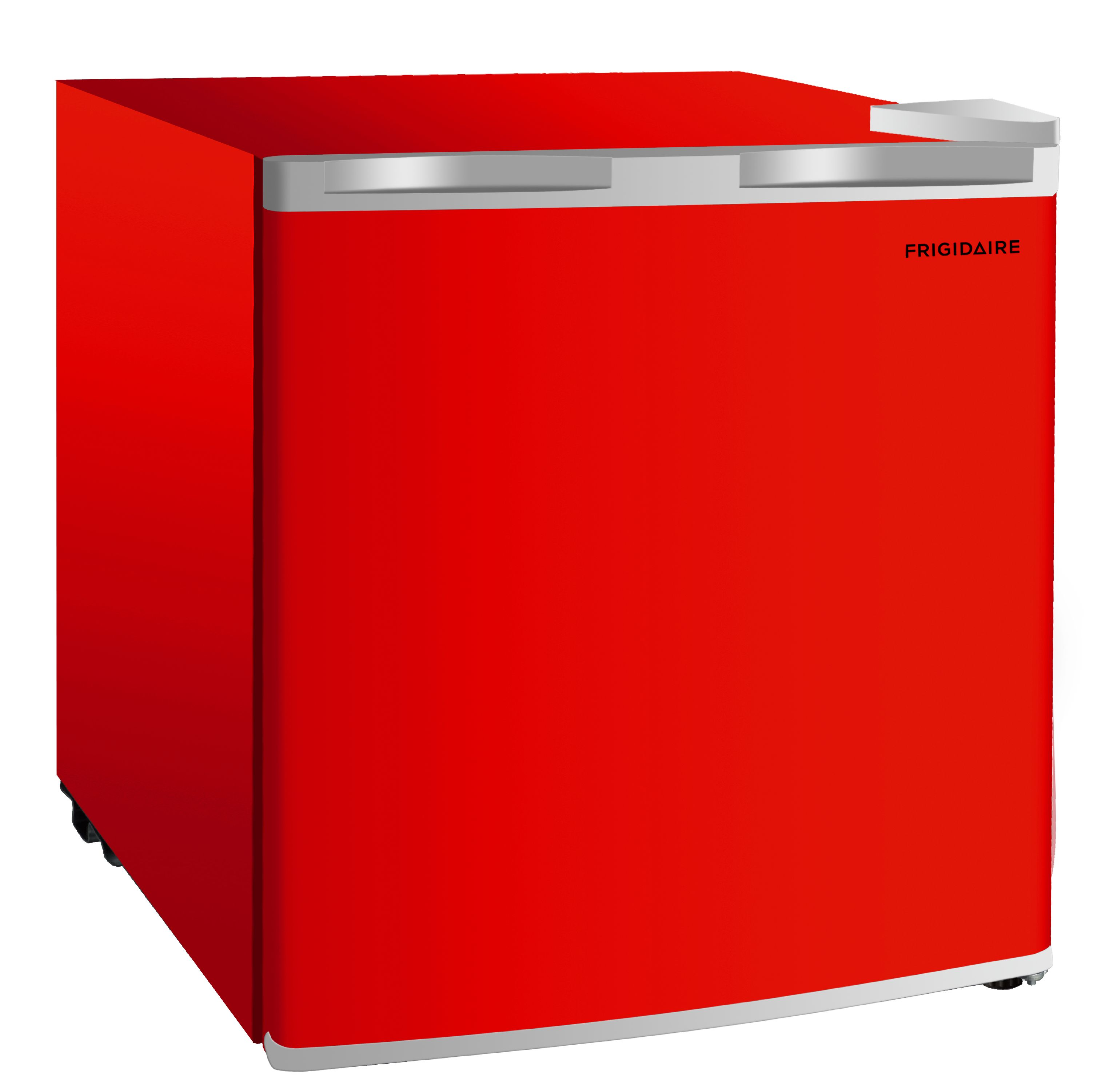 Frigidaire EFR115-RED 1.6 Cu Ft Compact Fridge for Office Red Mancave or RV Dorm Room