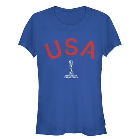 Nike Holland World Cup - FIFA Women's World Cup France 2019™ Juniors' Classic USA Text T-Shirt