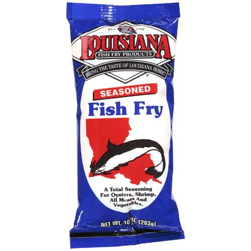 Louisiana Fish Fry Products: Seasoned Fish Fry, 10 Oz