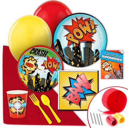 Superhero Comics Value Party Pack - Superhero Party Ideas