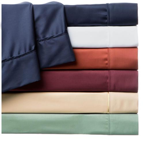Moments 310 Thread Count Supima Cotton FitRite Pillowcases (Set of 2) King - Caramel